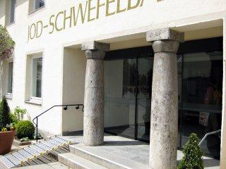 Jodschwefelbad - Haupteingang