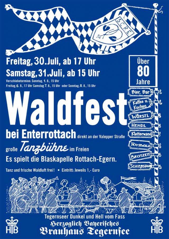 Waldfest des SC Rottach-Egern
