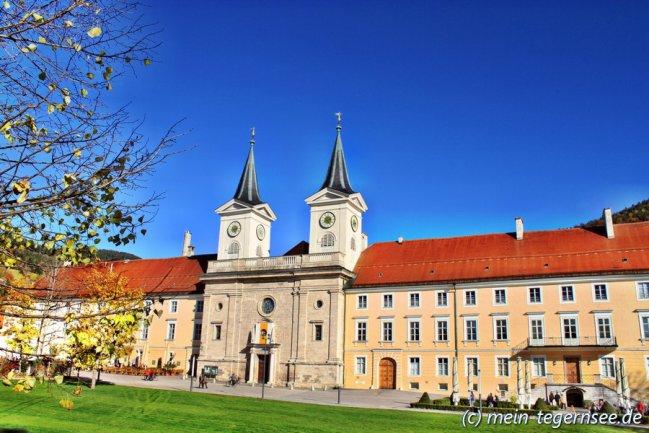 Schlosskirche in Tegernsee