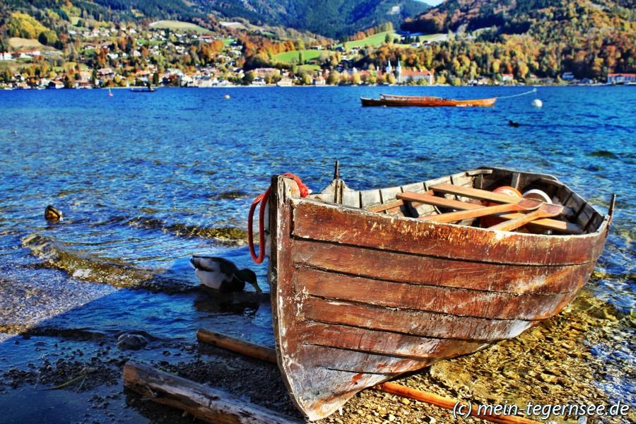 Tegernsee Ruderboot