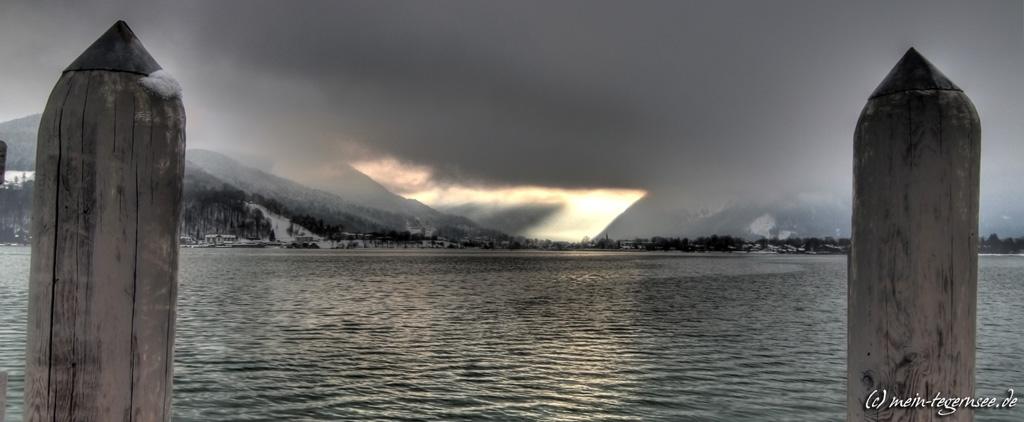 Morgenstimmung am Tegernsee