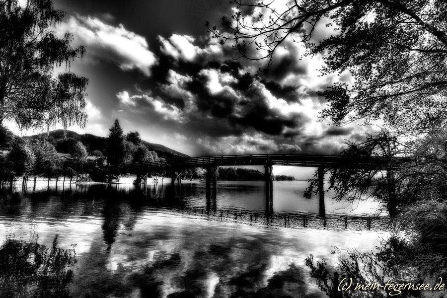 Gmund am Tegernsee - schwarzweiß infrared 001