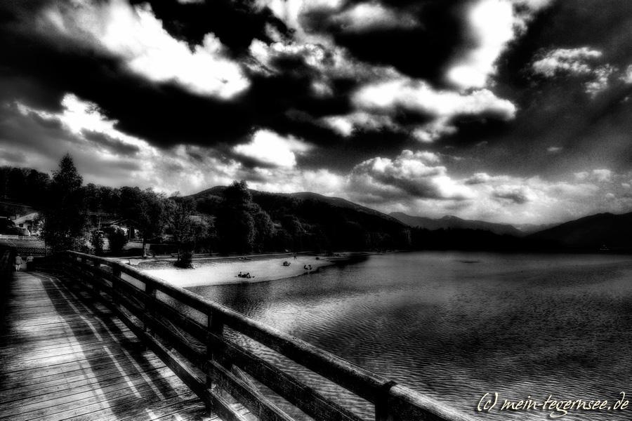 Gmund am Tegernsee - schwarzweiß infrared 002