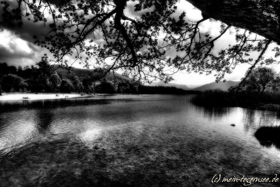 Gmund am Tegernsee - schwarzweiß infrared 003