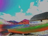Bootshütte der Wasserwacht Bad Wiessee