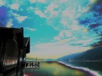 Blick über den Tegernsee