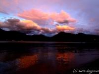 Wolkenstimmung über dem Tegernsee