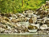 Weissach am Eisernen Steg in Rottach-Egern