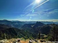 Hirschberg Blick auf die Alpen