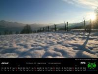 Tegernsee Kalender 2013 - januar