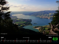 Tegernsee Kalender 2013 - juni
