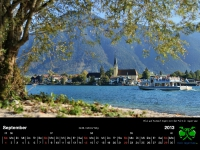 Tegernsee Kalender 2013 - september