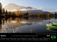 Tegernsee Kalender 2013 - oktober