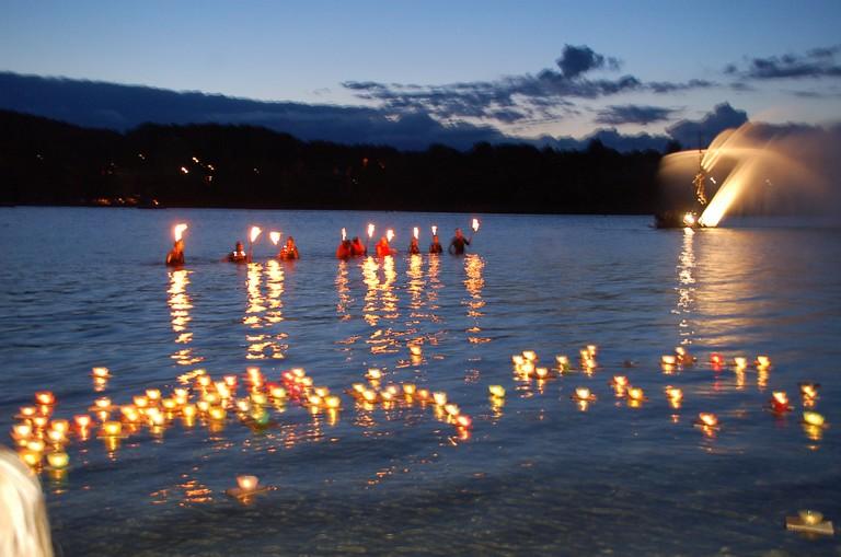Lichterfest Gmund