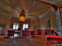 Das herzogliche Arbeitszimmer Hexenzimmer auf Schloss Ringberg am Tegernsee