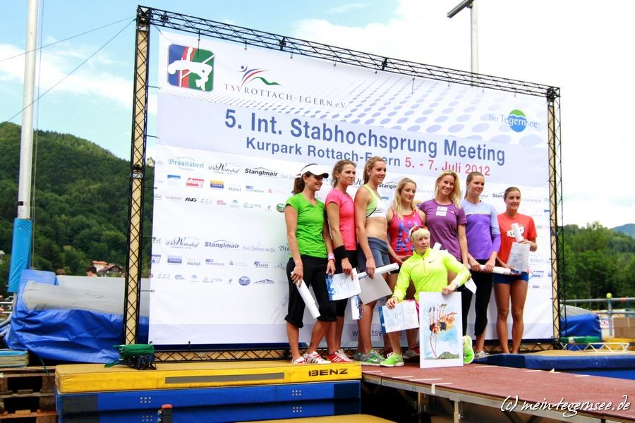 Stabhochsprung Meeting Rottach-Egern 2012