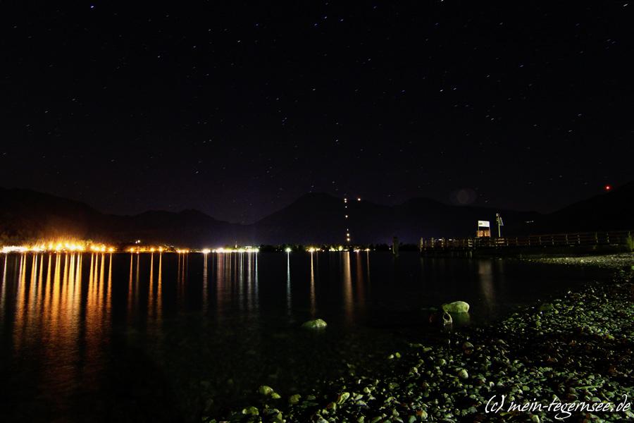 Der Tegernsee bei Nacht | Mein Tegernsee - Waldfeste