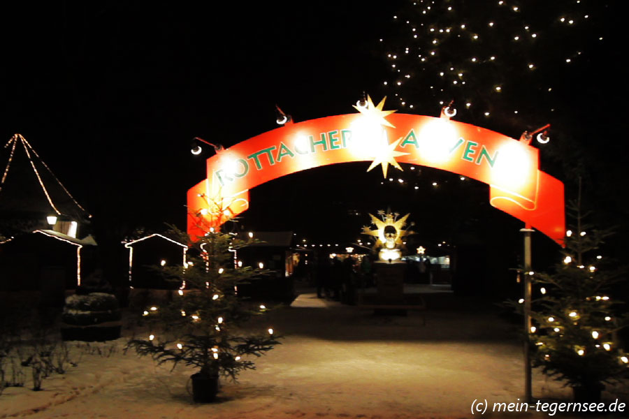 Christkindlmarkt in Rottach-Egern am Tegernsee - Rottacher Advent