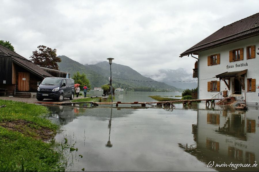 Haus Seeblick beim Aquadome in Bad Wiessee.