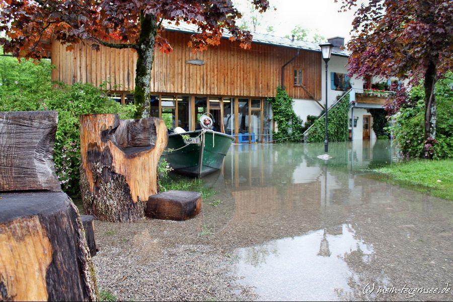 Fischbruthaus beim Aquadome in Bad Wiessee.