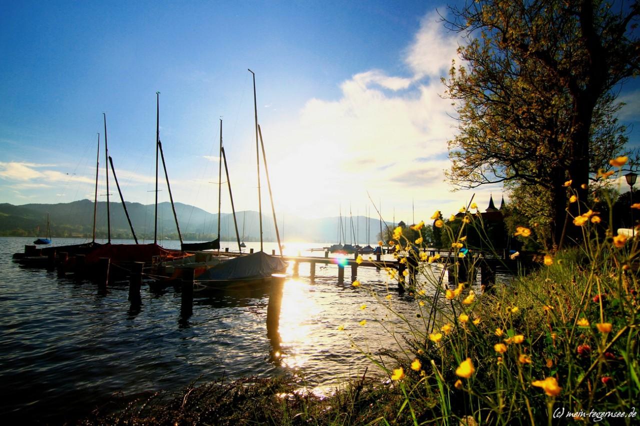 Beim Yacht-Club Tegernsee
