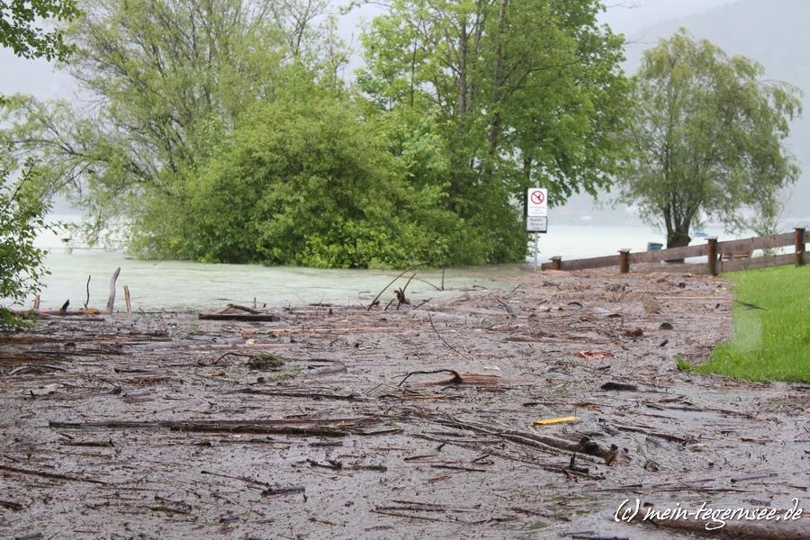 """Uferbereich an der """"Popper-Wiese"""" in Rottach-Egern"""