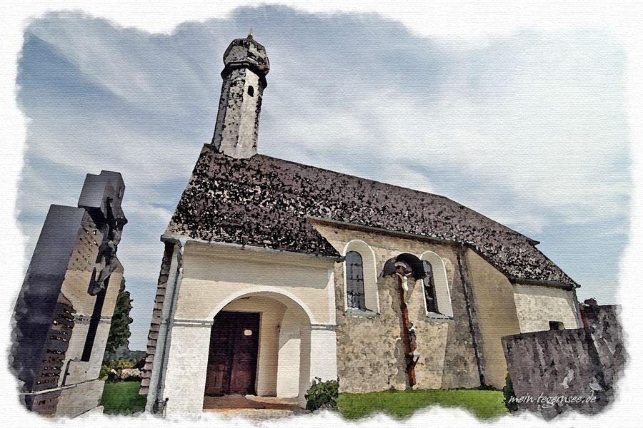 Kirche St. Margaretha in Roggersdorf.