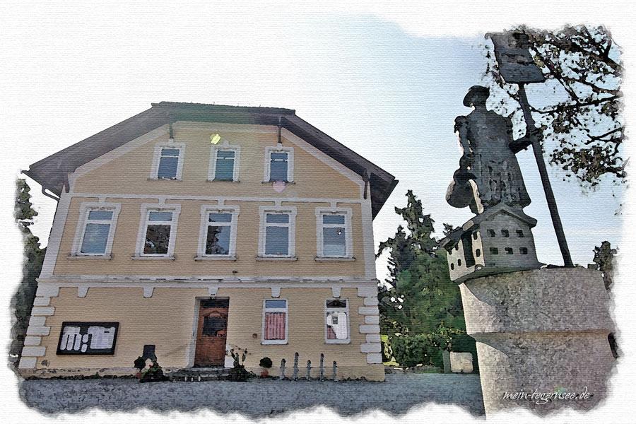Das Rathaus von Otterfing.