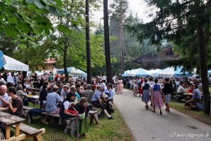 Trachten-Waldfest Leonhardstoana Kreuth 2014