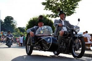 Historische Motorräder zum Seefest