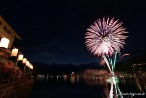 Feuerwerk über´m Tegernsee