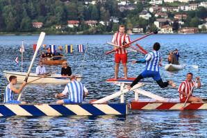 Schifferstechen zum Seefest Bad Wiessee