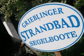 Strandbad Grieblinger Eingang