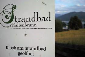 Strandbad Kaltenbrunn Parkplatz
