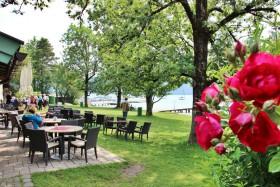 Strandbad Seeglas Gastronomiebereich