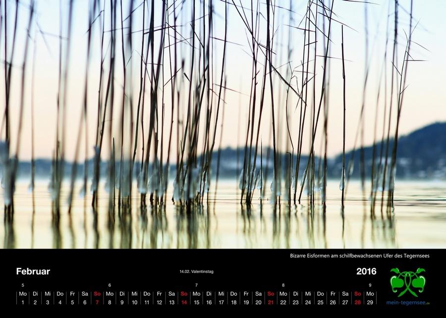 Tegernsee Kalender 2016 - Februar