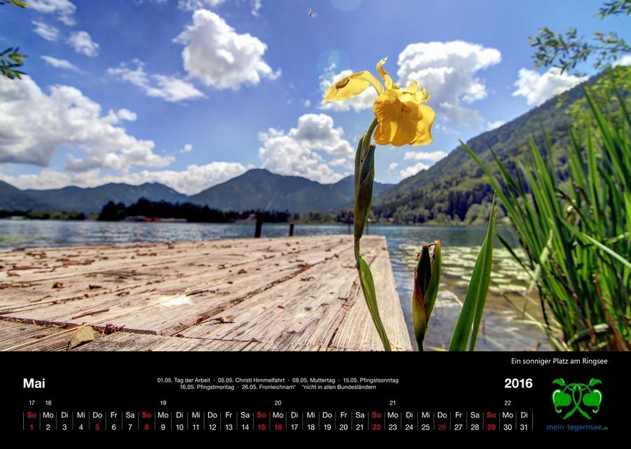 Tegernsee Kalender 2016 - Mai