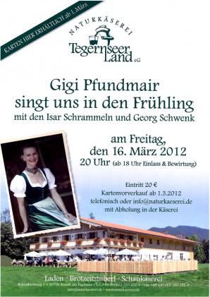 Gigi Pfundmair in der Naturkäserei TegernseerLand