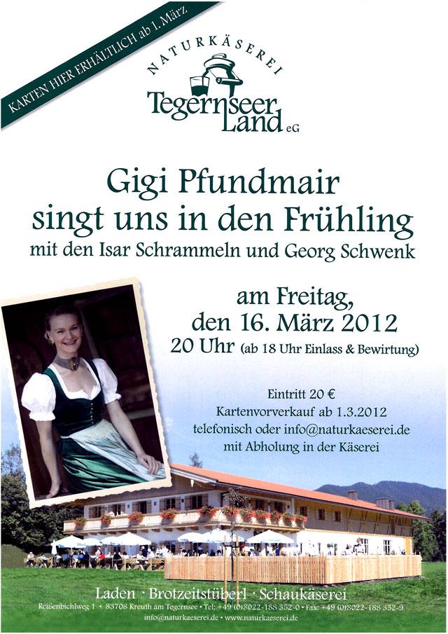 Gigi Pfundmair in der Naturkäserei Tegernseer Land