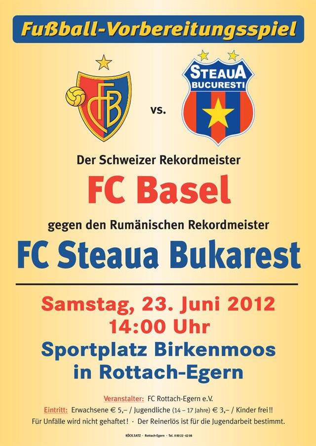 FC Basel vs. FC Steaua Bukarest