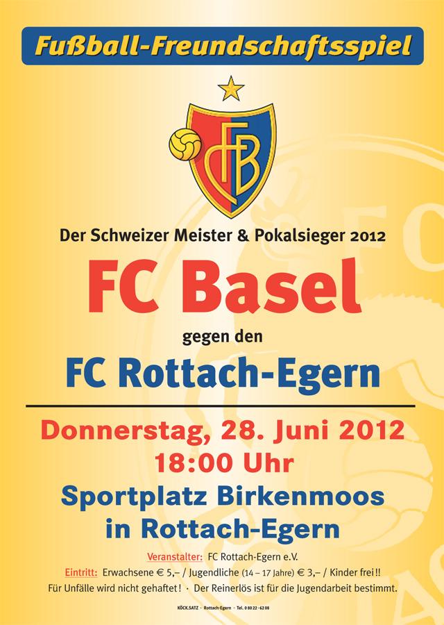 FC Basel vs. FC Rottach-Egern