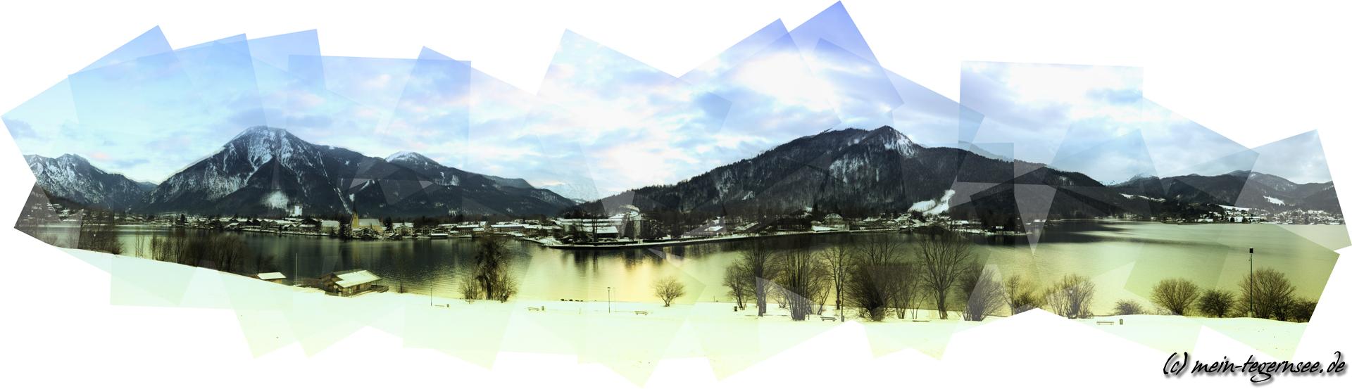 Rottach-Egern am Tegernsee mit Wallberg width=