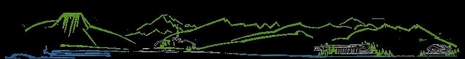 Die Ferienregion Tegernsee als Sizze