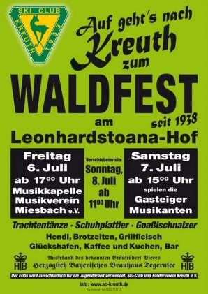 Waldfest SC Kreuth (6./7.7.2012)