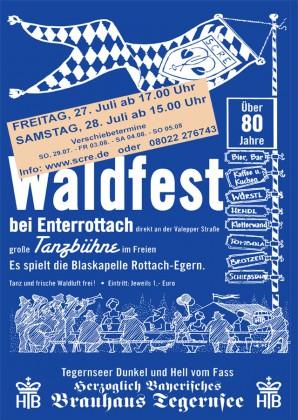 Waldfest SC Rottach-Egern 2013