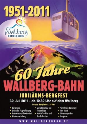 60 Jahre Wallbergbahn – Die Seilbahn in Rottach-Egern am Tegernsee feiert Jubiläum
